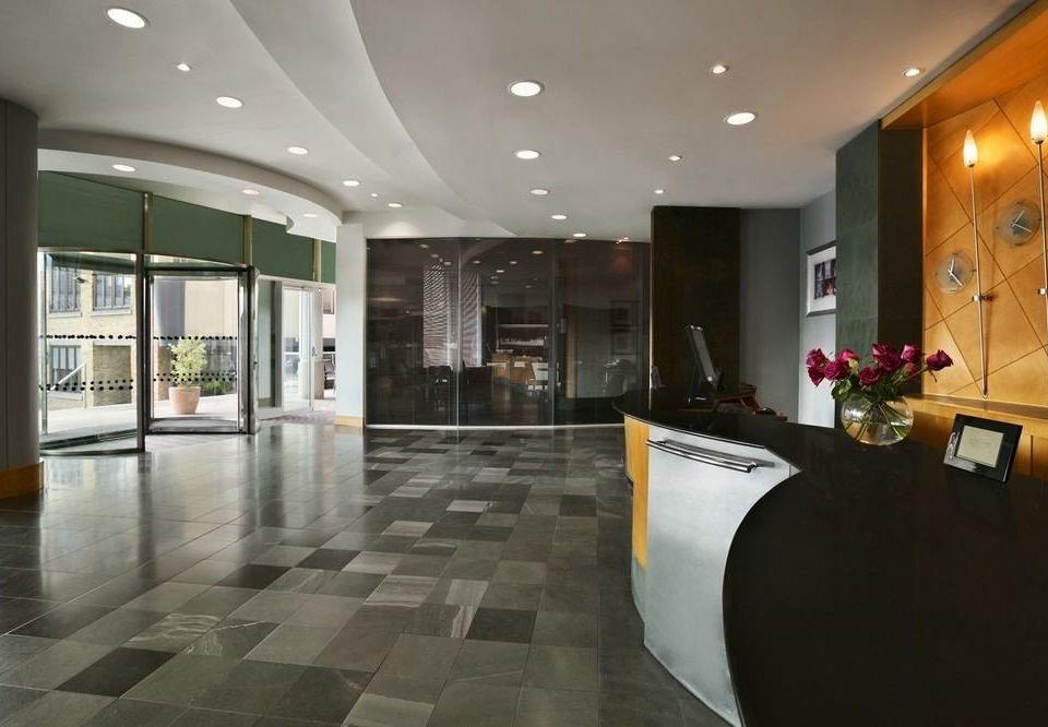 Lobby property condominium flooring Modern