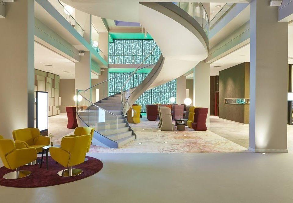 Lobby property condominium home living room waiting room Modern