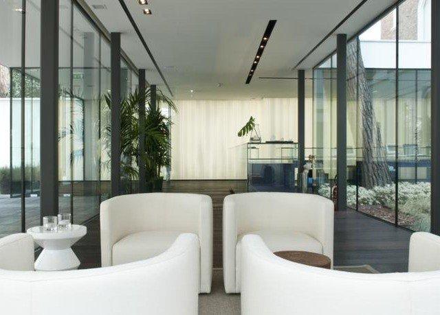 property condominium lighting Lobby living room Modern