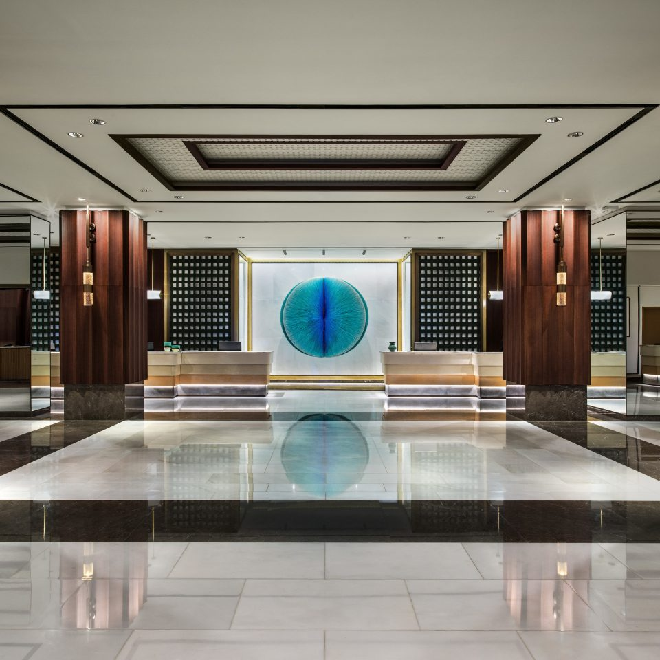 Lobby flooring hall Modern