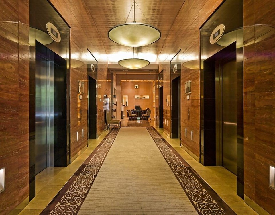 Lobby hall lighting mansion steel Modern stainless silver