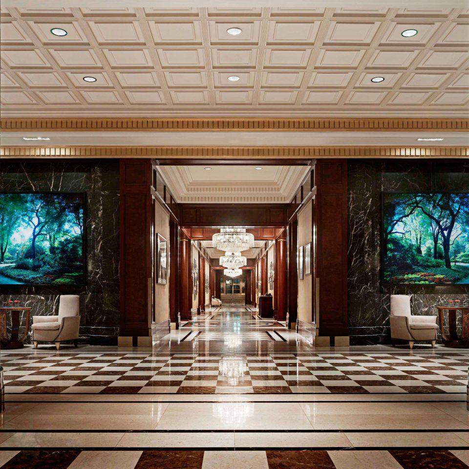 Lobby Modern mansion home living room lighting