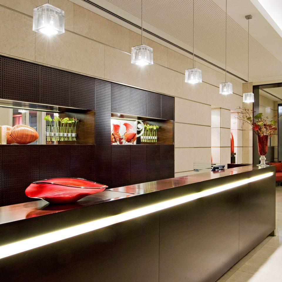 Lobby Modern lighting receptionist restaurant