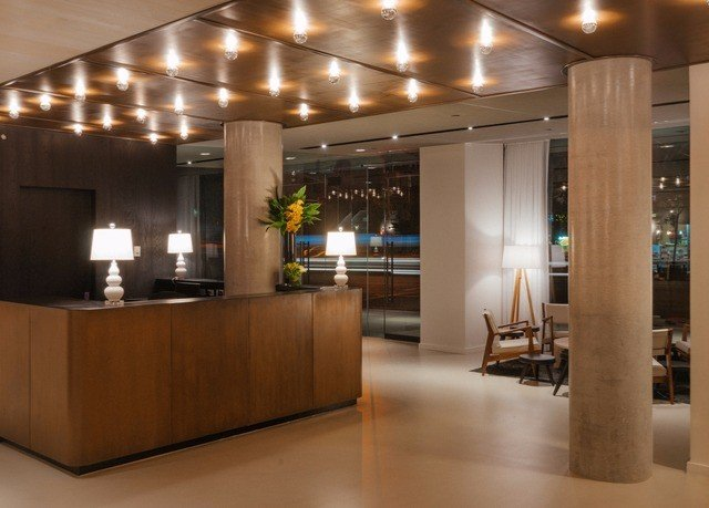 Lobby lighting receptionist Modern