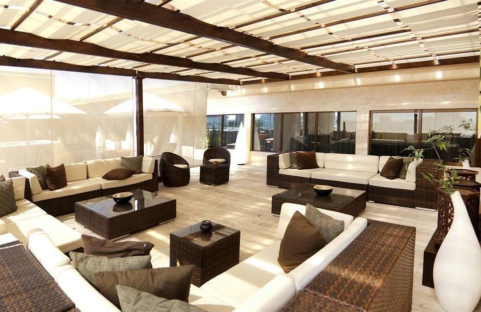 Modern property living room Lobby condominium Resort