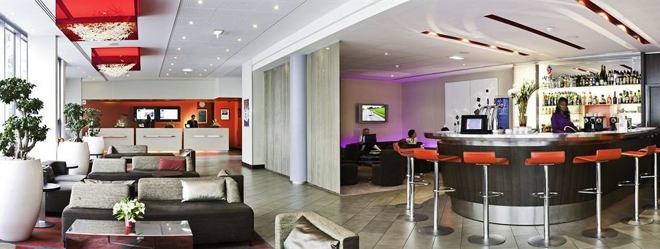 property home Lobby living room restaurant Resort Modern leather