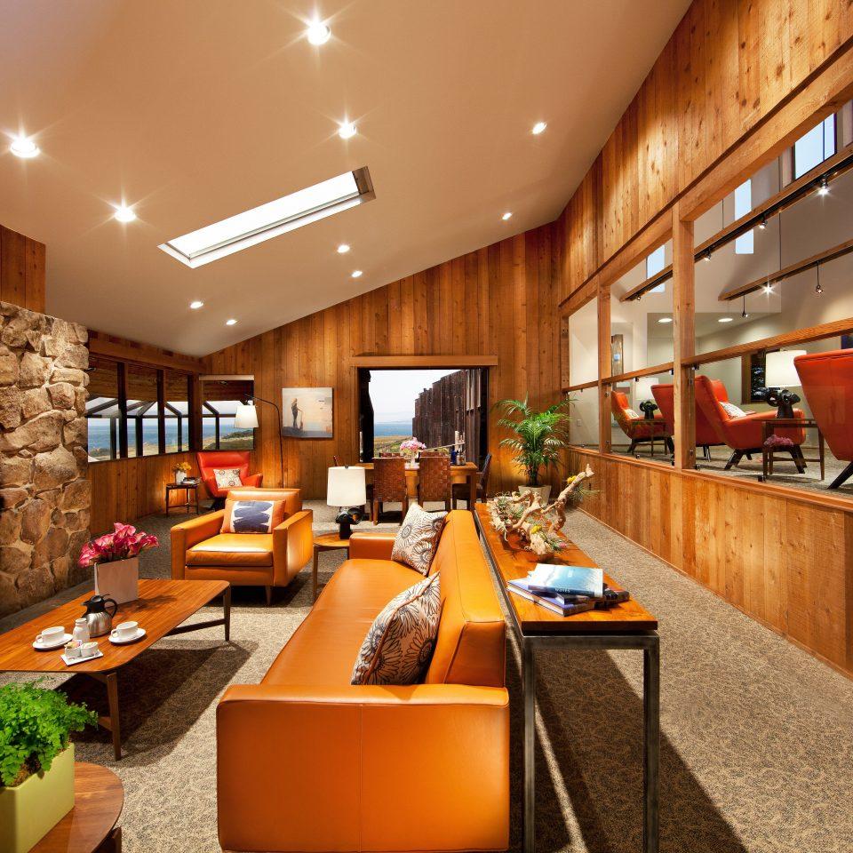Lobby Modern Resort Rustic restaurant home recreation room living room