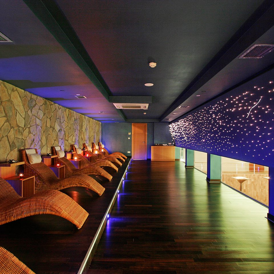Modern Resort Spa Wellness auditorium Lobby function hall convention center lighting theatre conference hall