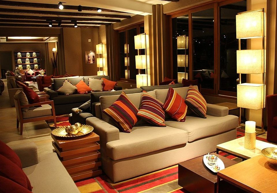 sofa living room Lobby Suite Resort yacht restaurant flat leather Modern