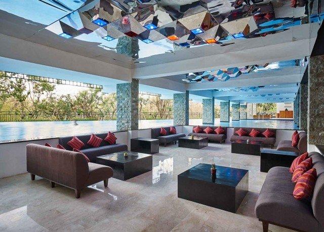 property living room Lobby condominium Resort Villa Modern
