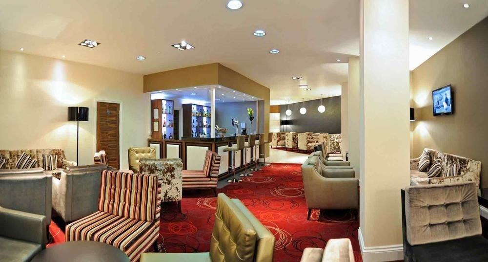 sofa property living room condominium Lobby Suite Modern leather