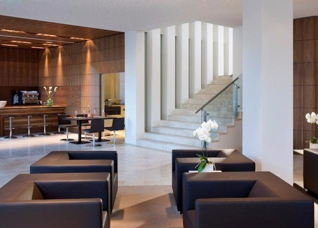 property condominium Suite living room Lobby Modern