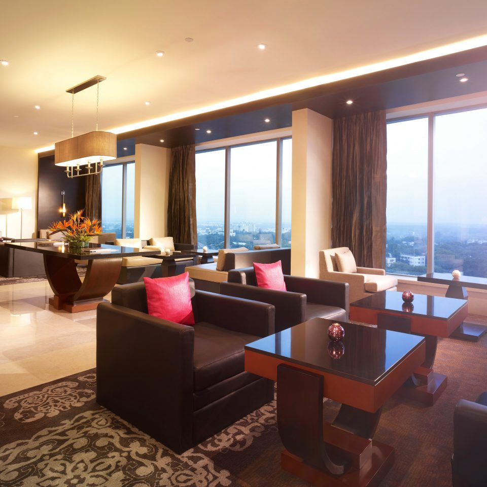 Lobby Modern property living room condominium Suite restaurant conference hall flat