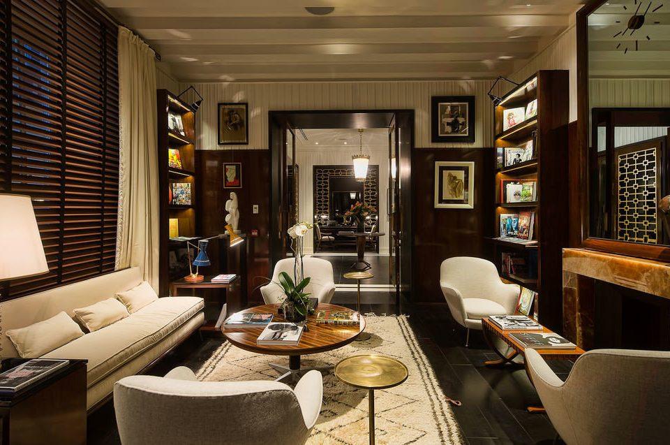 sofa living room property home condominium Lobby Suite restaurant Modern leather