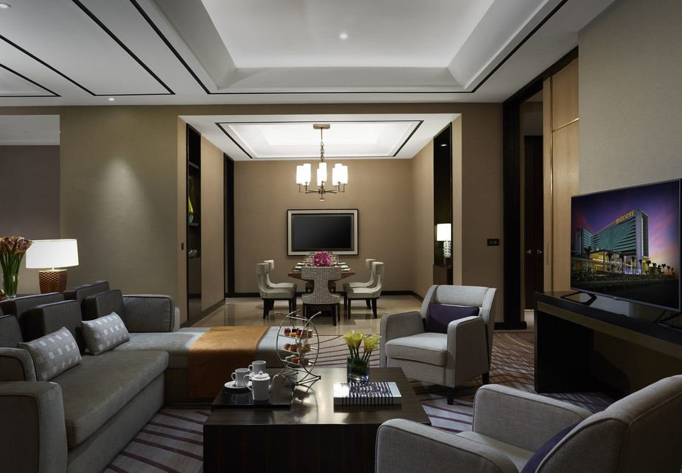 living room property condominium Lobby home conference hall lighting Suite Modern flat