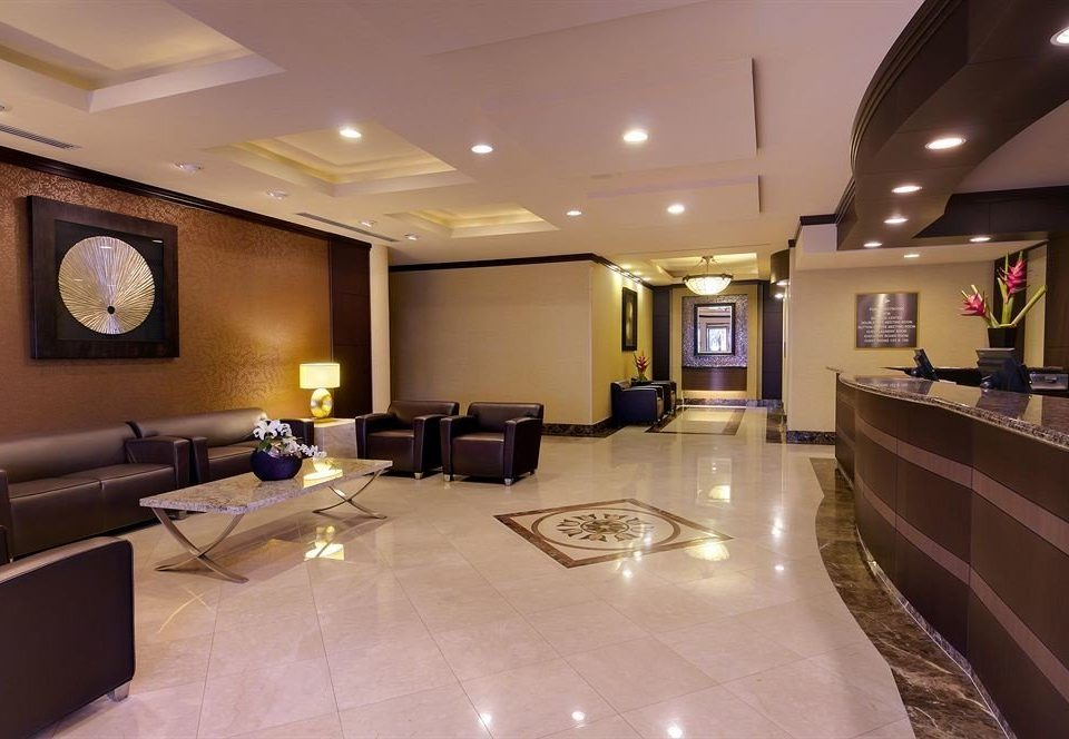 Lobby property recreation room conference hall living room function hall Suite convention center Modern