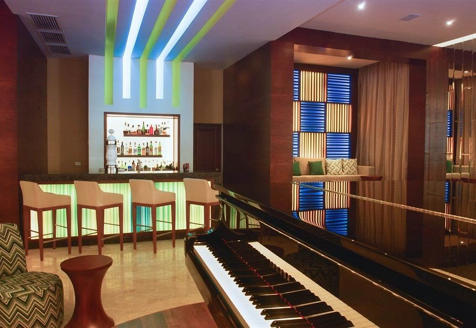 recreation room Music billiard room piano Resort auditorium Lobby electric organ