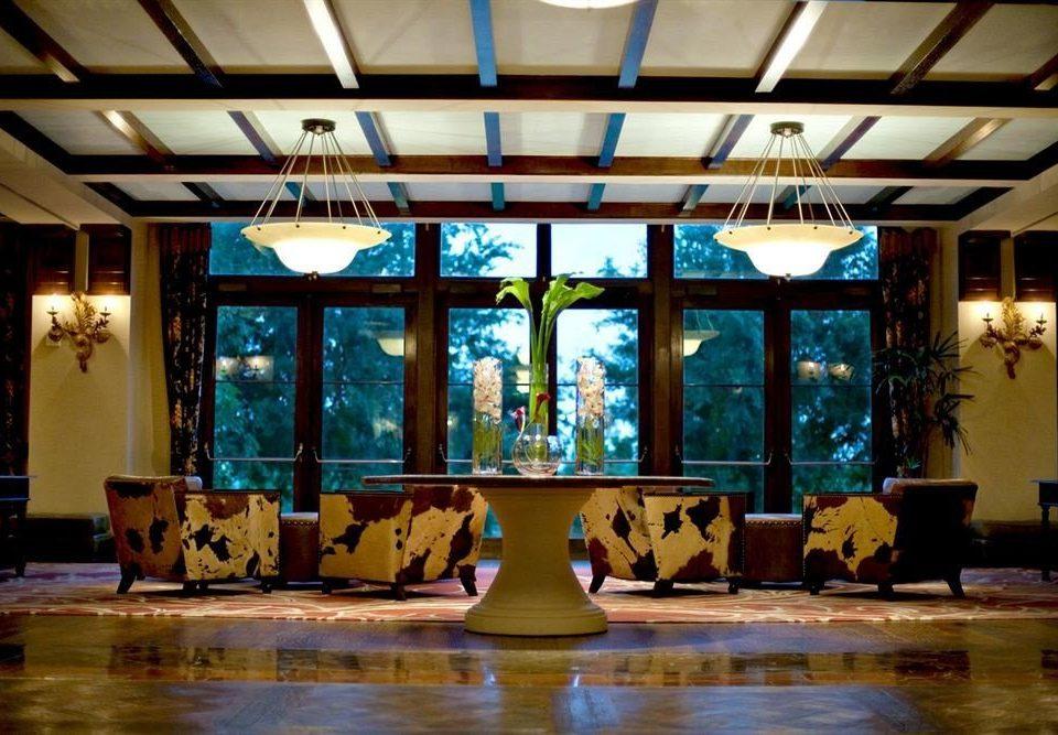 Lobby Resort ballroom