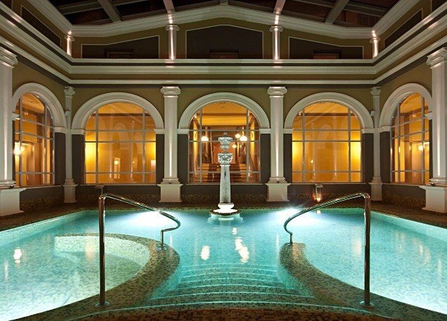 building property swimming pool Lobby mansion palace Resort thermae ballroom