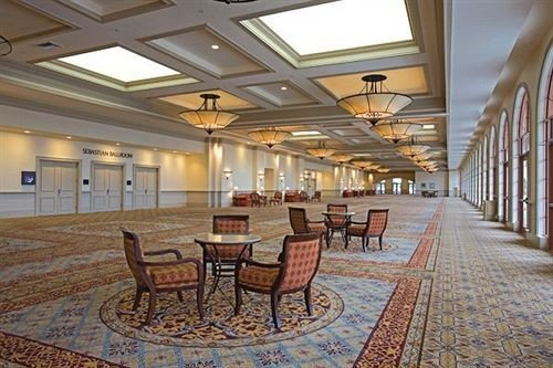 Lobby chair property function hall convention center palace plaza ballroom Resort empty