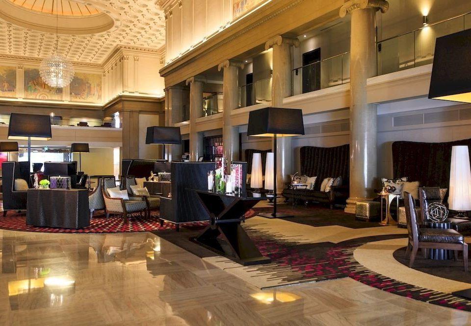 Lobby property recreation room flooring living room home mansion function hall Resort condominium ballroom