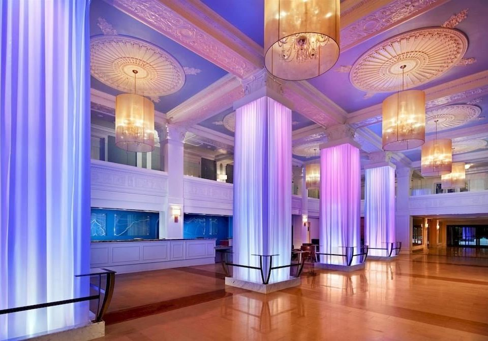 property Lobby function hall mansion ballroom Resort convention center