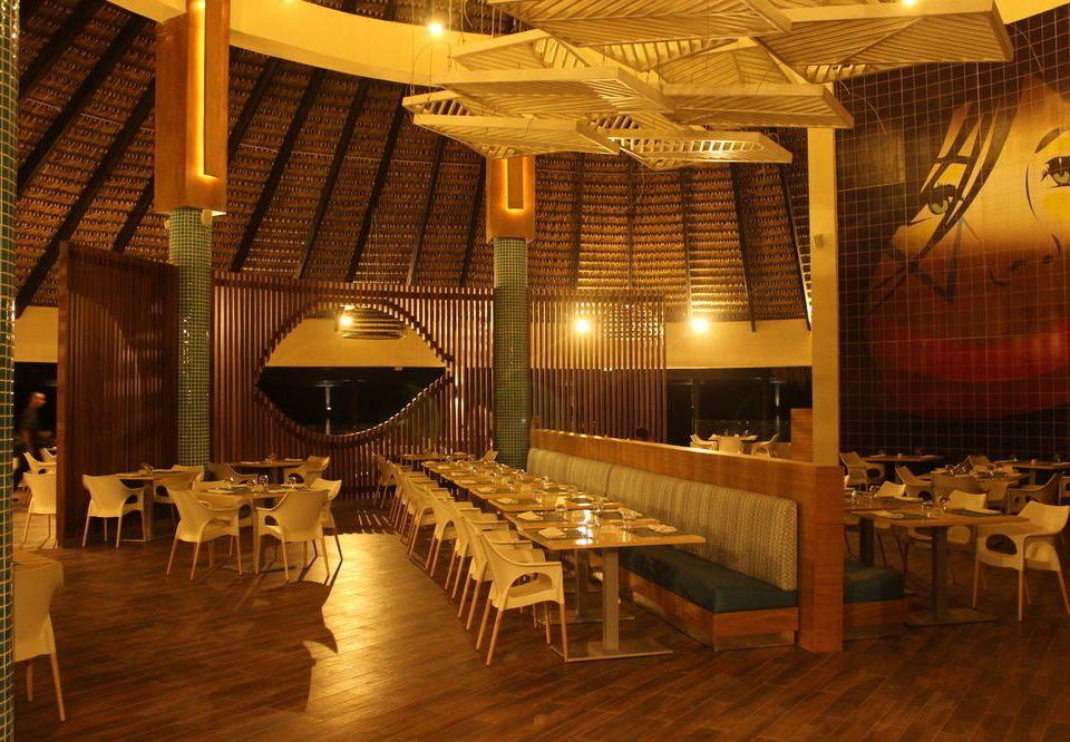 restaurant function hall Resort Lobby basement