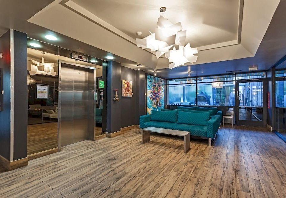 building property Lobby recreation room home living room condominium mansion blue flooring Resort