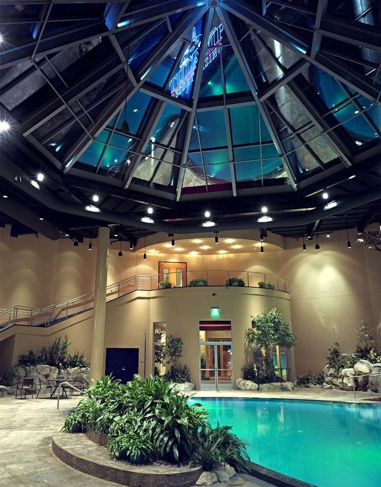 building Lobby swimming pool convention center plant court Resort