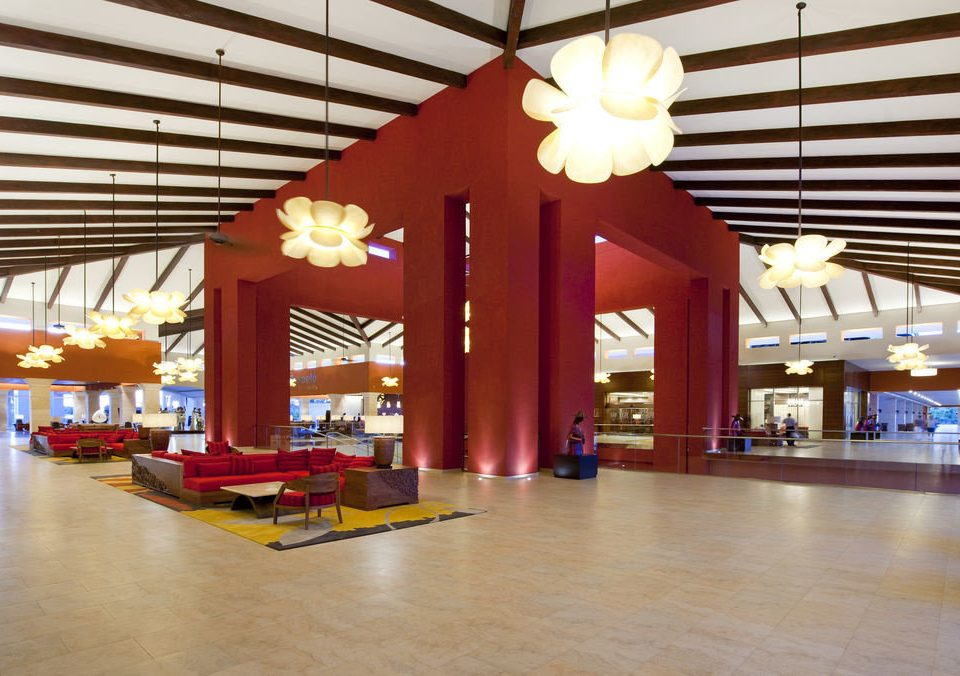 Lobby building shopping mall function hall Resort restaurant convention center