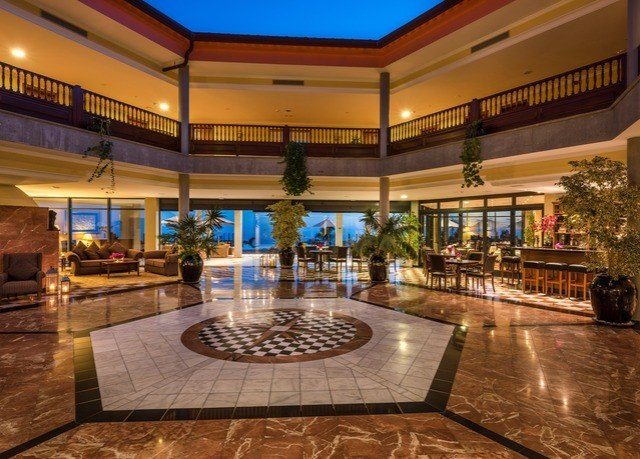 Lobby property building Resort mansion plaza palace convention center