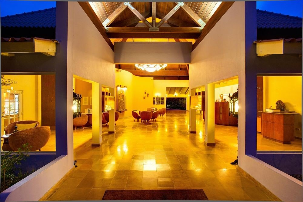 Lobby property building Resort yellow function hall