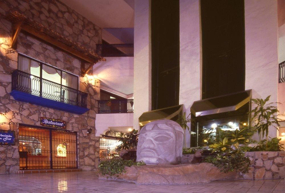 building property restaurant Lobby Resort home mansion hacienda stone