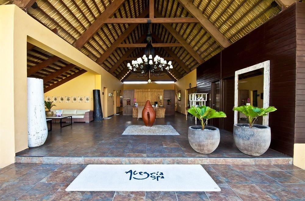 building property Lobby home Resort hacienda