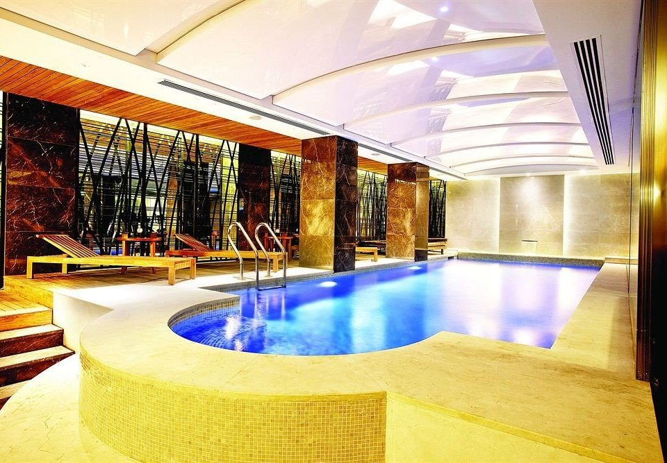 swimming pool building leisure Lobby Resort