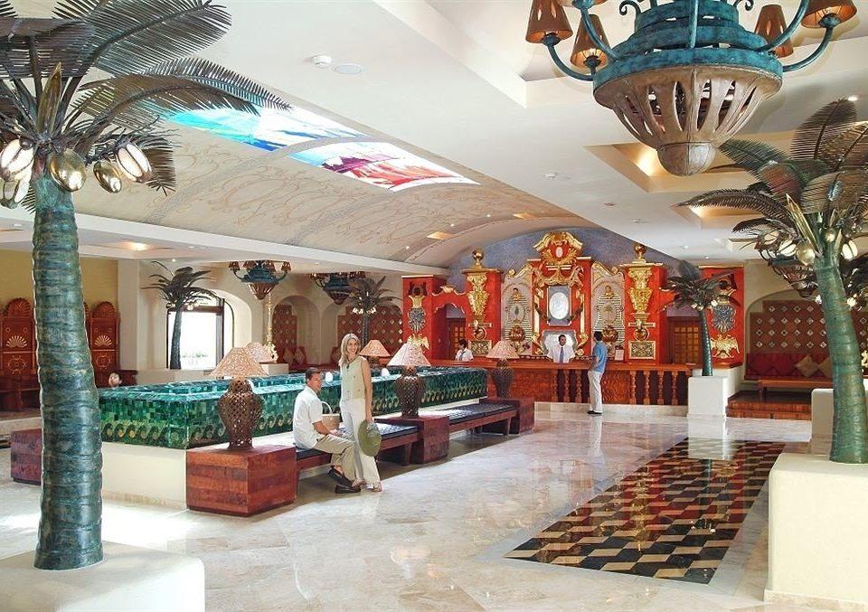 Lobby building shopping mall plaza restaurant Resort retail