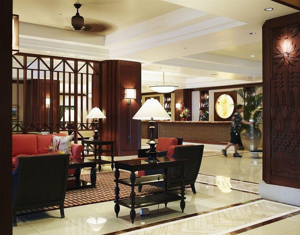 Lobby Resort property living room home condominium cabinetry