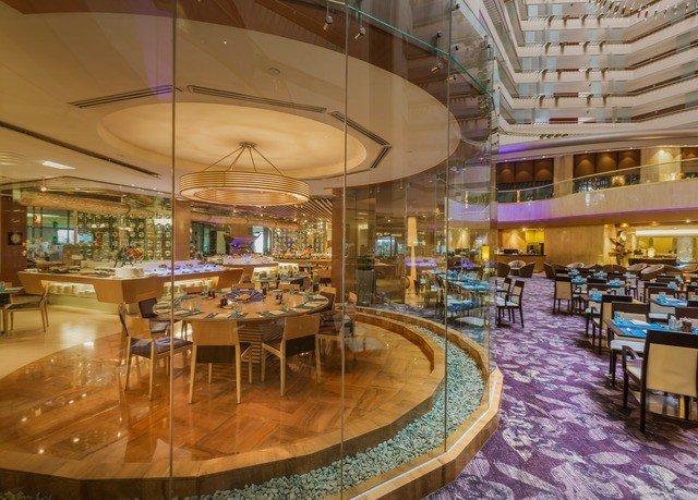 Lobby restaurant café Resort leisure mixed use