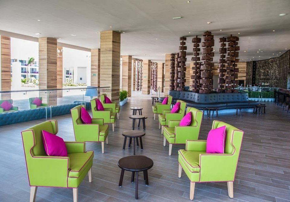 chair leisure property Resort condominium Lobby pink restaurant