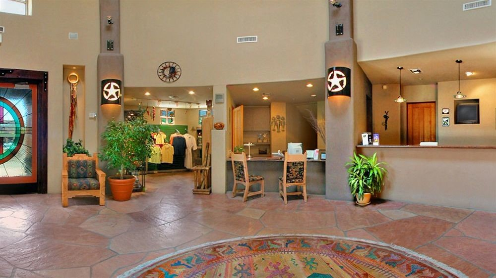 Lobby property Resort condominium flooring colored