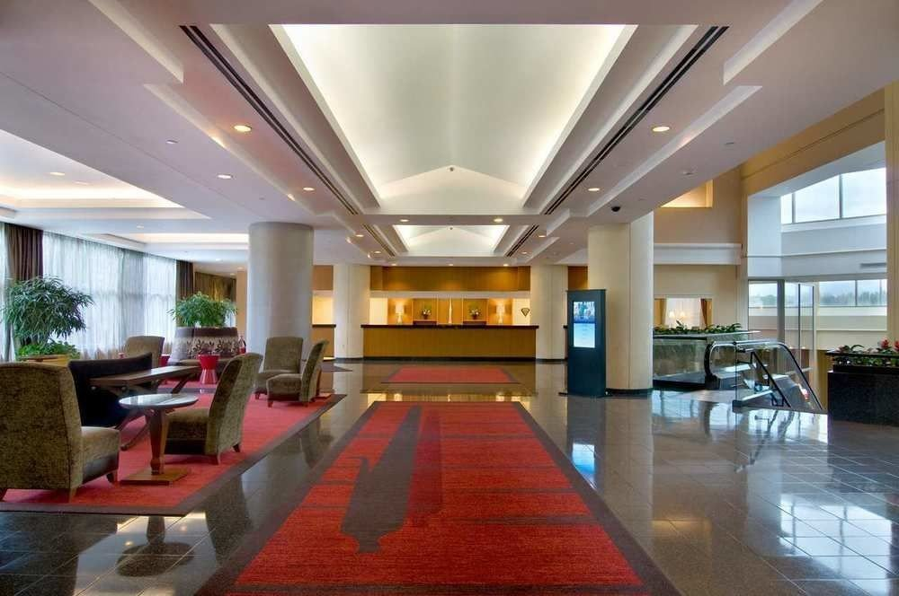 Lobby property condominium convention center function hall conference hall Resort living room mansion