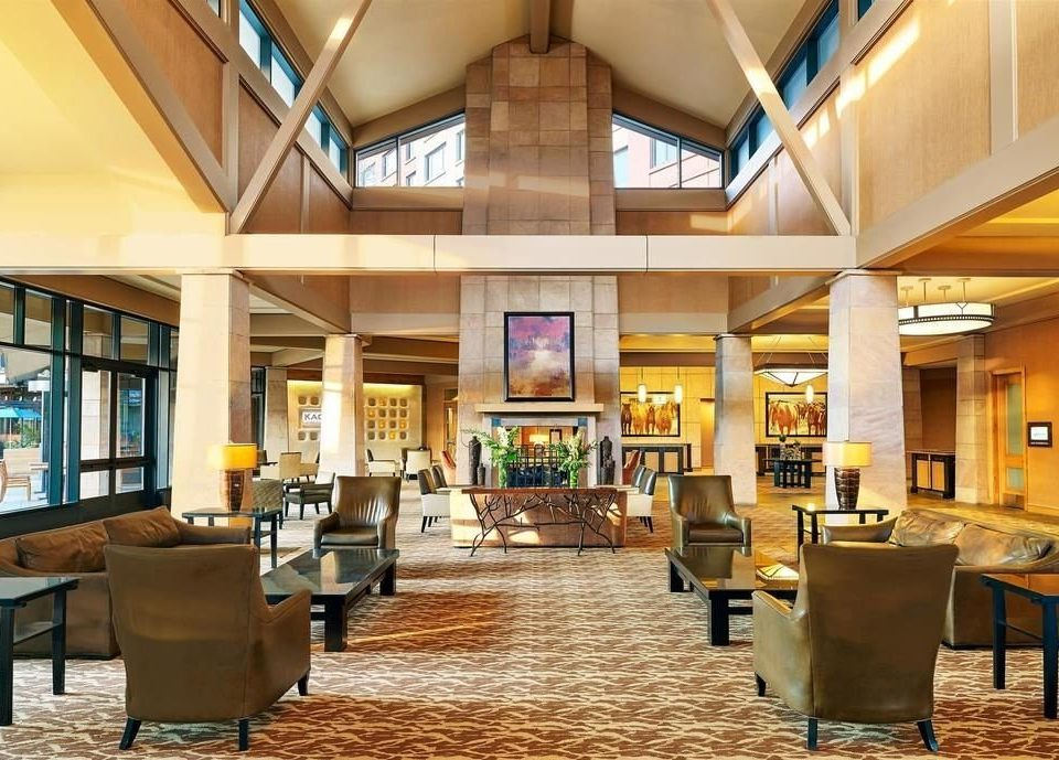 Lobby library Resort home condominium recreation room convention center