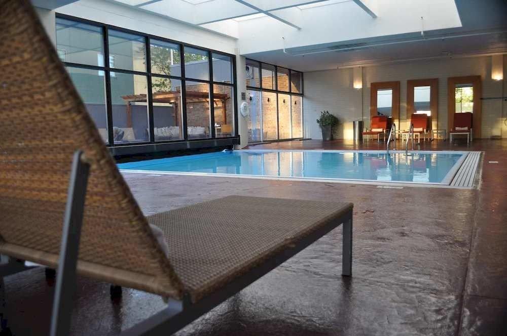 property swimming pool condominium Resort Lobby empty