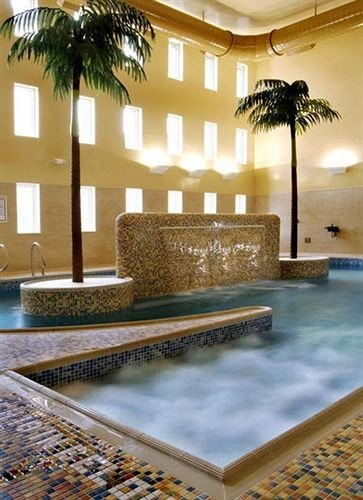 swimming pool leisure Lobby jacuzzi flooring condominium mansion Resort