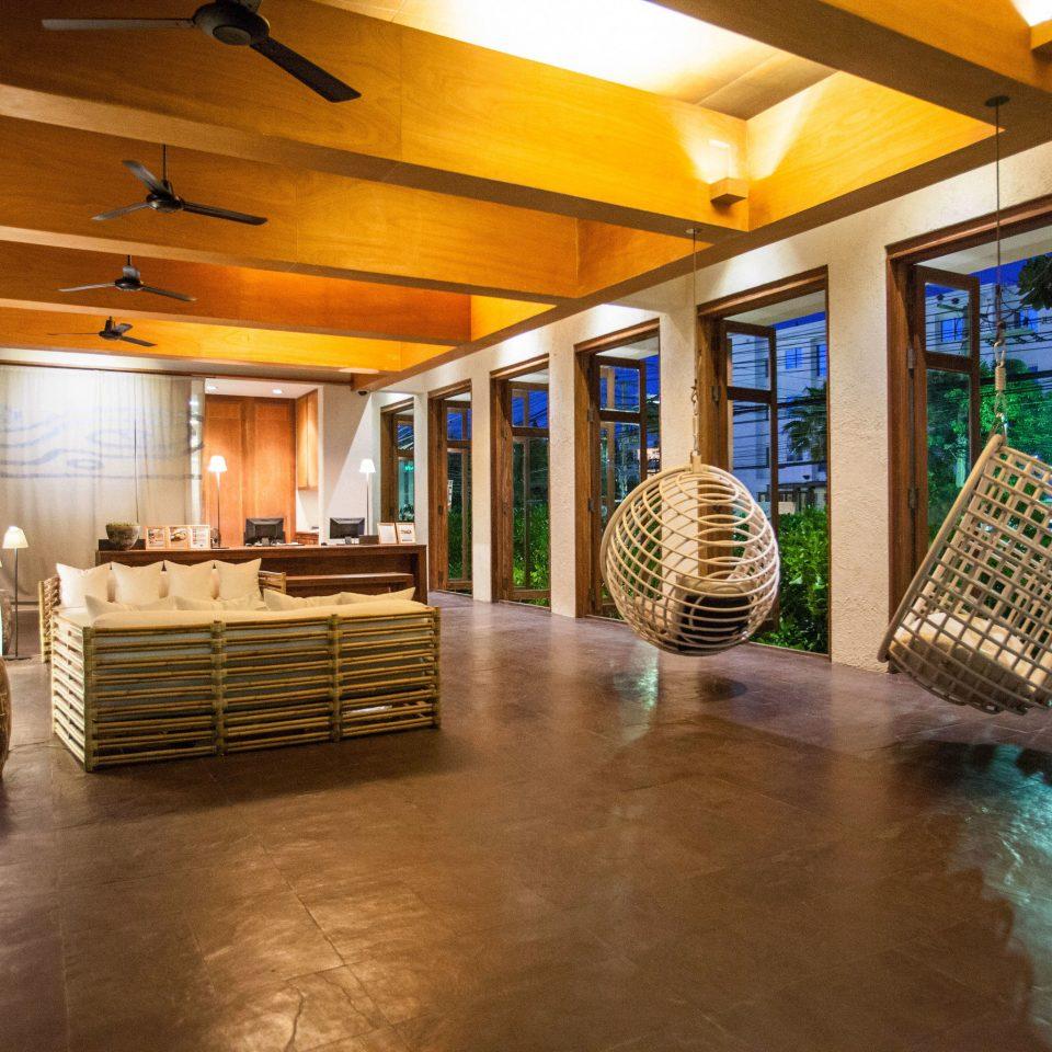 Lobby property home condominium wooden mansion Resort flooring living room