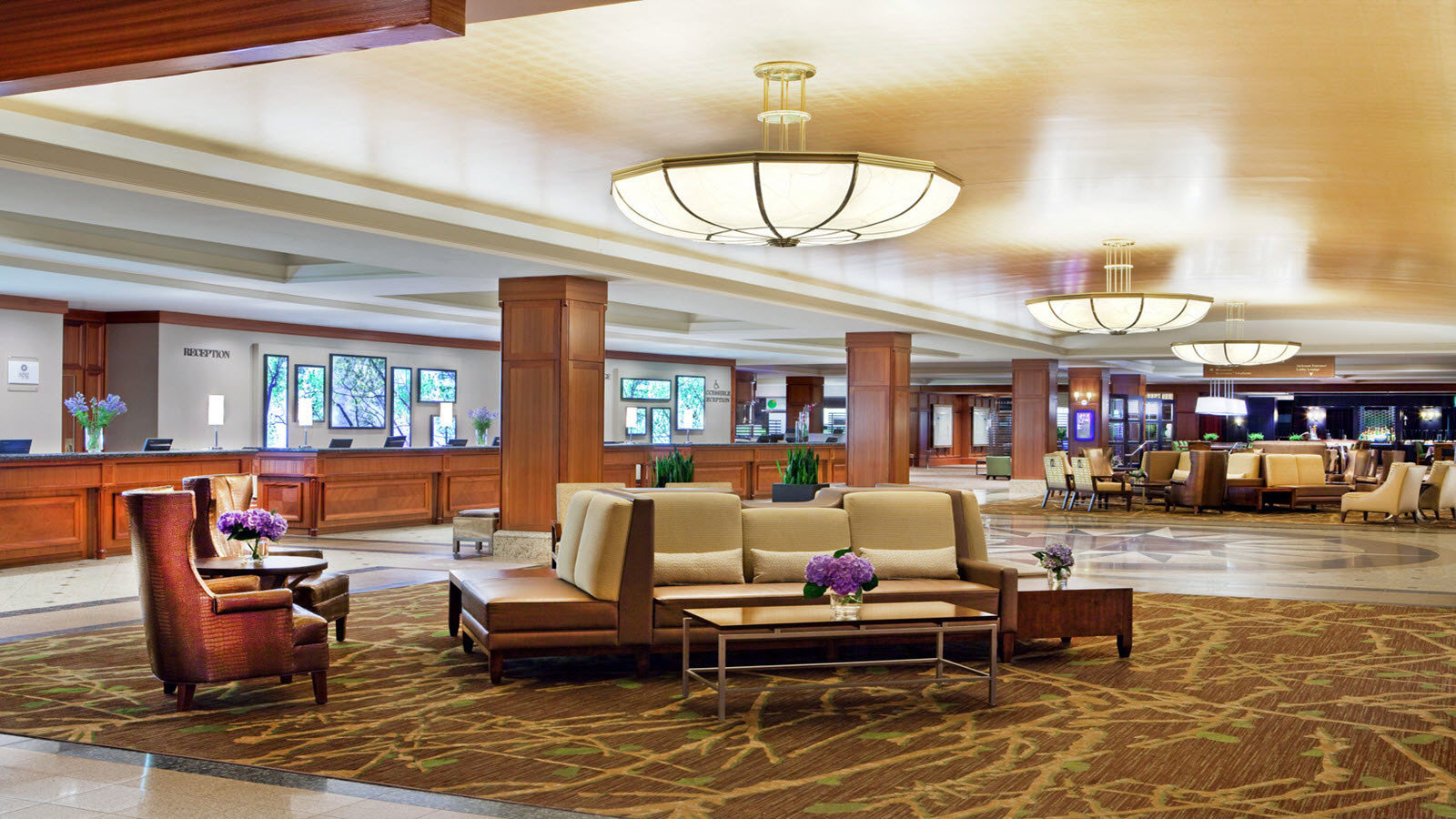 Lobby property living room home Resort condominium mansion