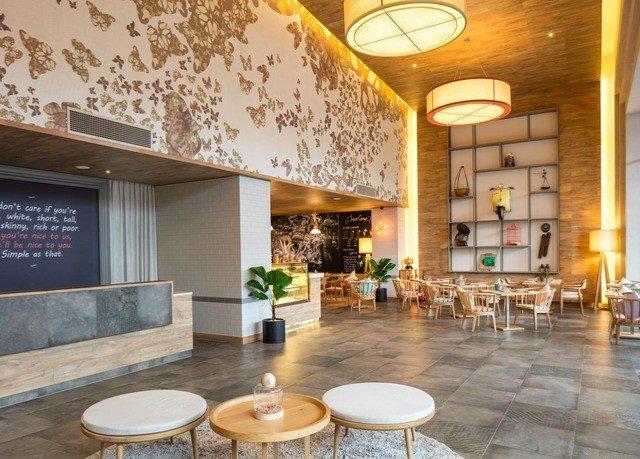 Lobby property condominium restaurant living room Resort