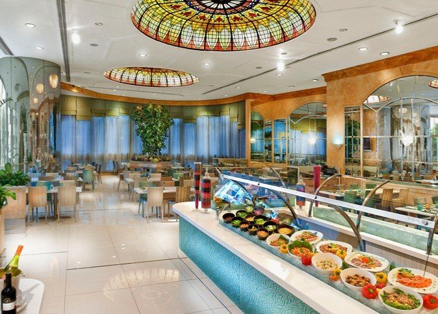 food counter Lobby restaurant shopping mall retail function hall convention center Resort fresh