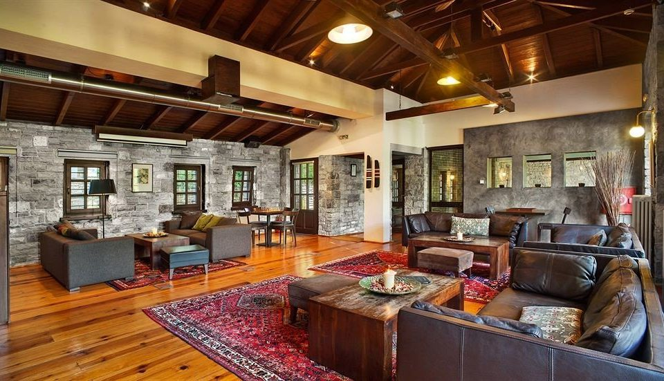 property home Lobby living room cottage Resort restaurant