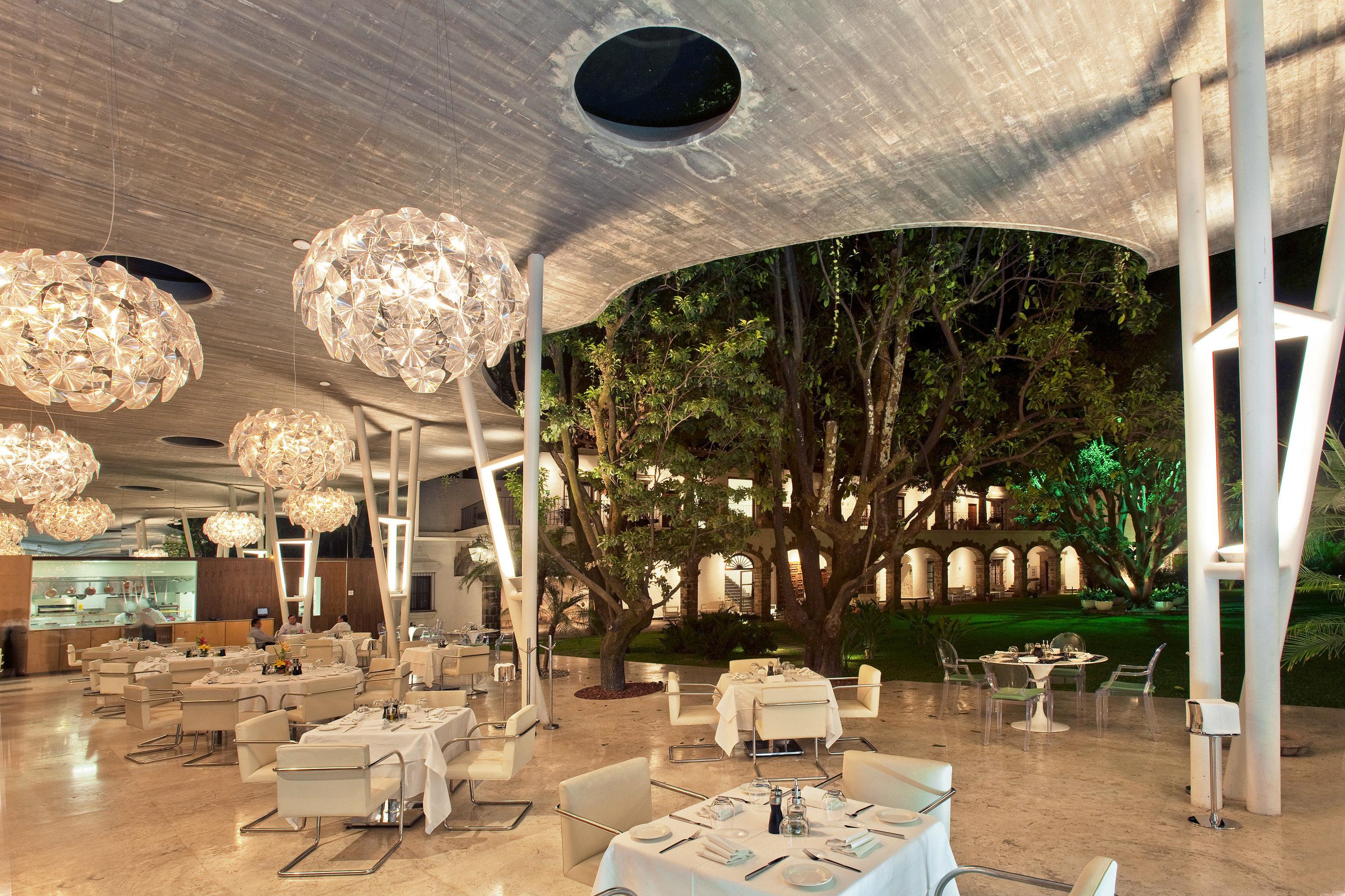 lighting Lobby Resort restaurant dining table